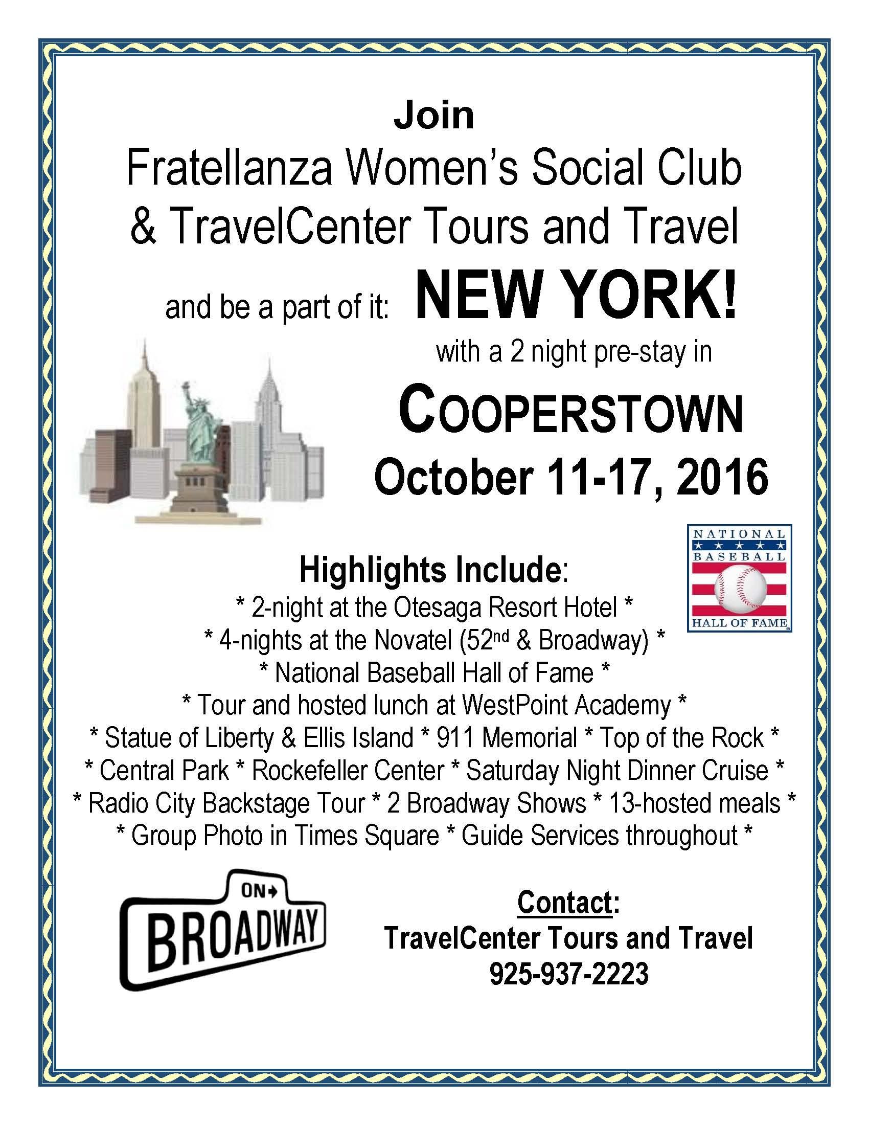 2016 New York Trip